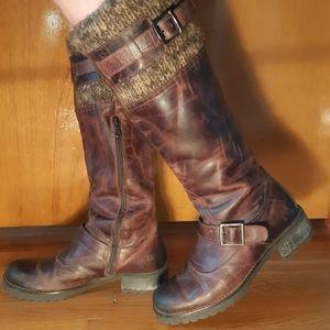 Bata Leather Boots
